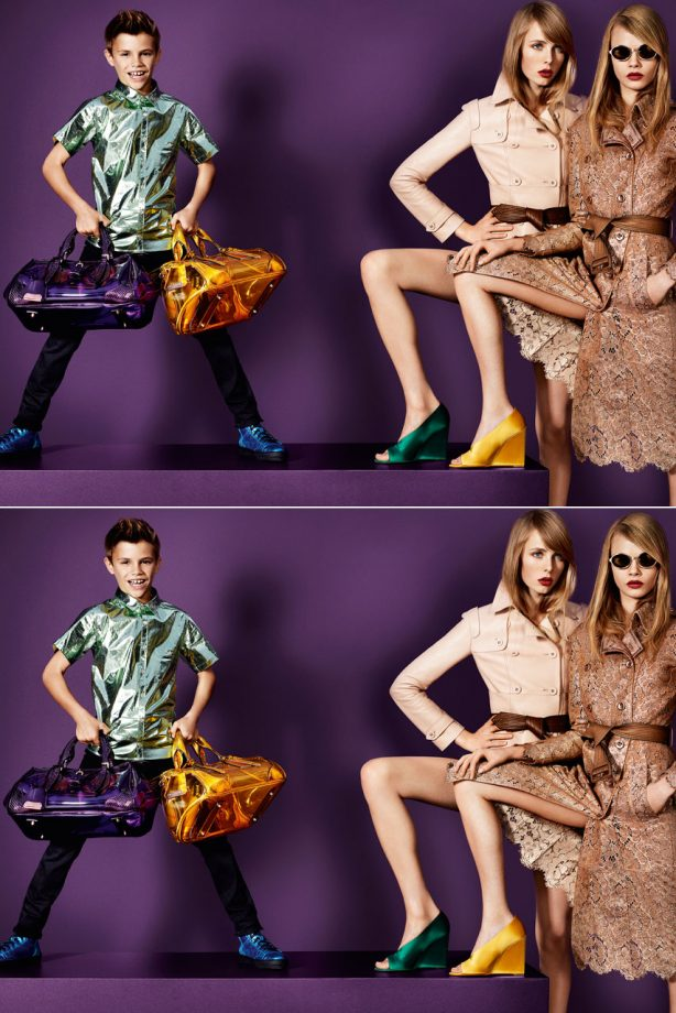 a59fb4f68eb1 Burberry release new spring summer 2013 campaign images of Romeo Beckham