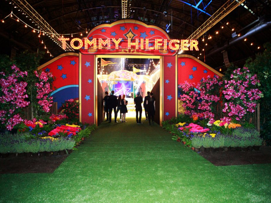 Tommy Hilfiger SS15 fashion show collection