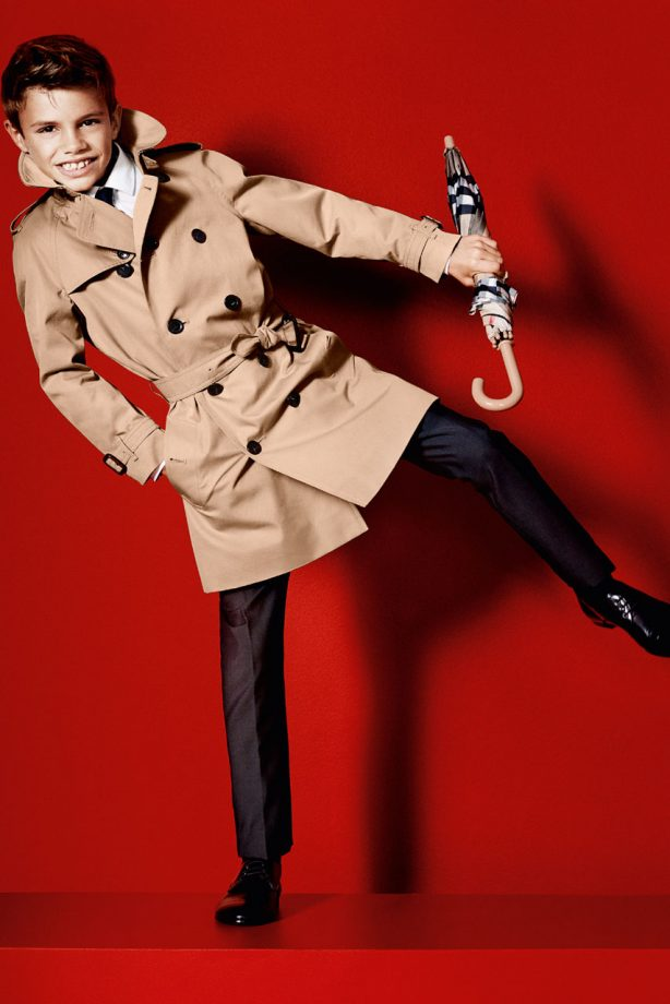 Romeo Beckham - Burberry spring/summer 2013 campaign - Marie Claire - Marie Claire UK