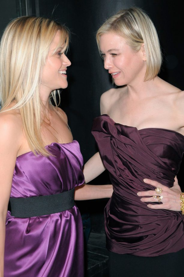 Reese Witherspoon and Renee Zellweger together on the red carpet
