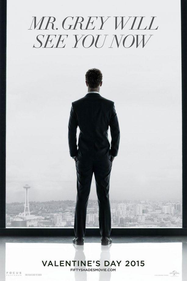 Jamie Dornan stars in first Fifty Shades of Grey movie poster