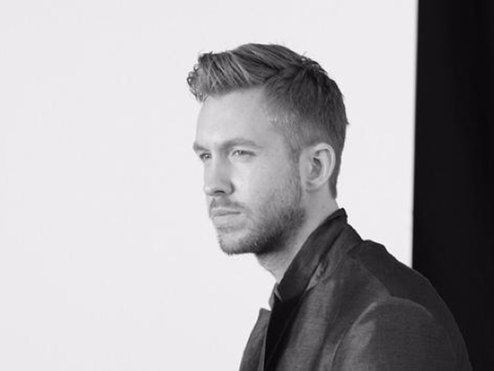 Calvin Harris For Emporio Armani SS15 In One Word: Woah