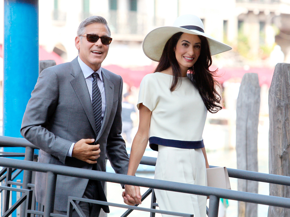 Amal Alamuddin S Wedding Dress Revealed