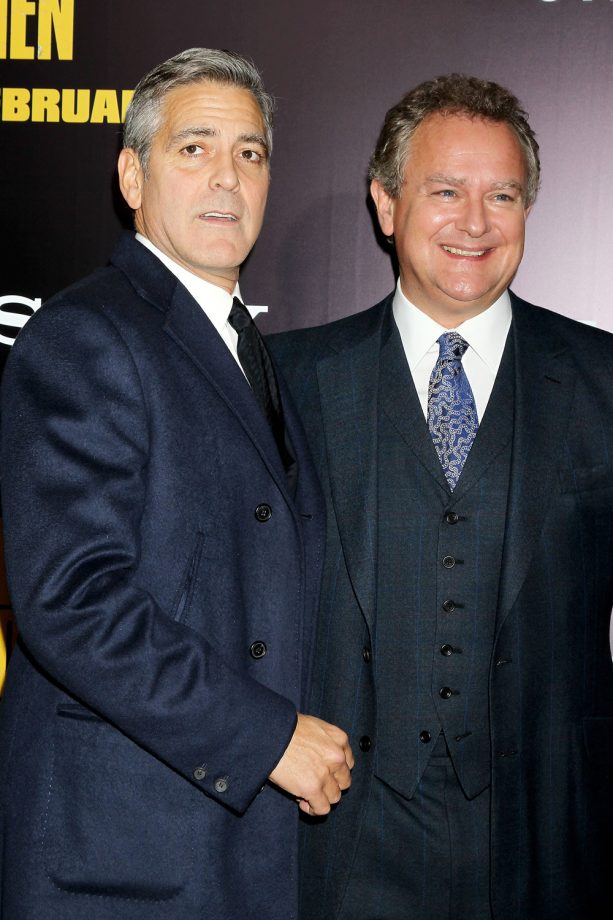 George Clooney and Hugh Bonneville