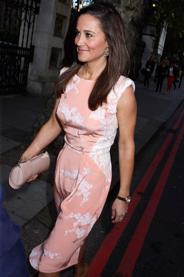 Pippa Middleton out and about in London