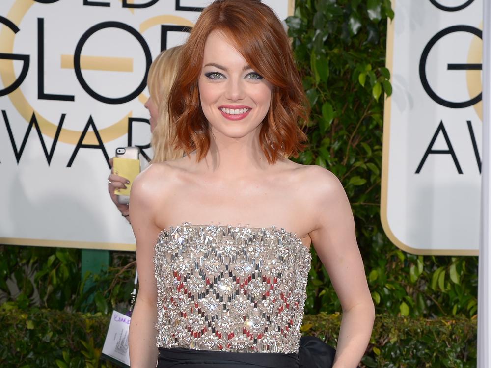 Video how to get emma stones golden globes look urmus Choice Image