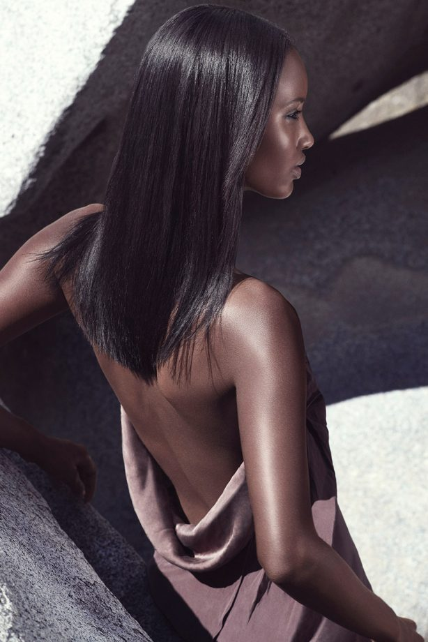 The allure of straight hair