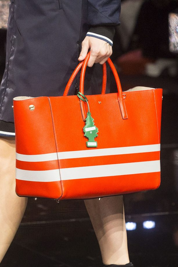 Anya Hindmarch AW15 fashion show