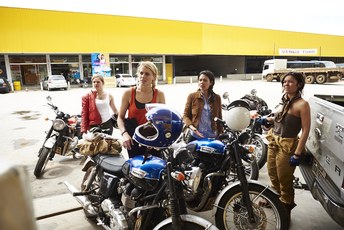 Road To Beauty: How Do L'equipee Girls Manage To Stay So Chic On Their Motorbikes