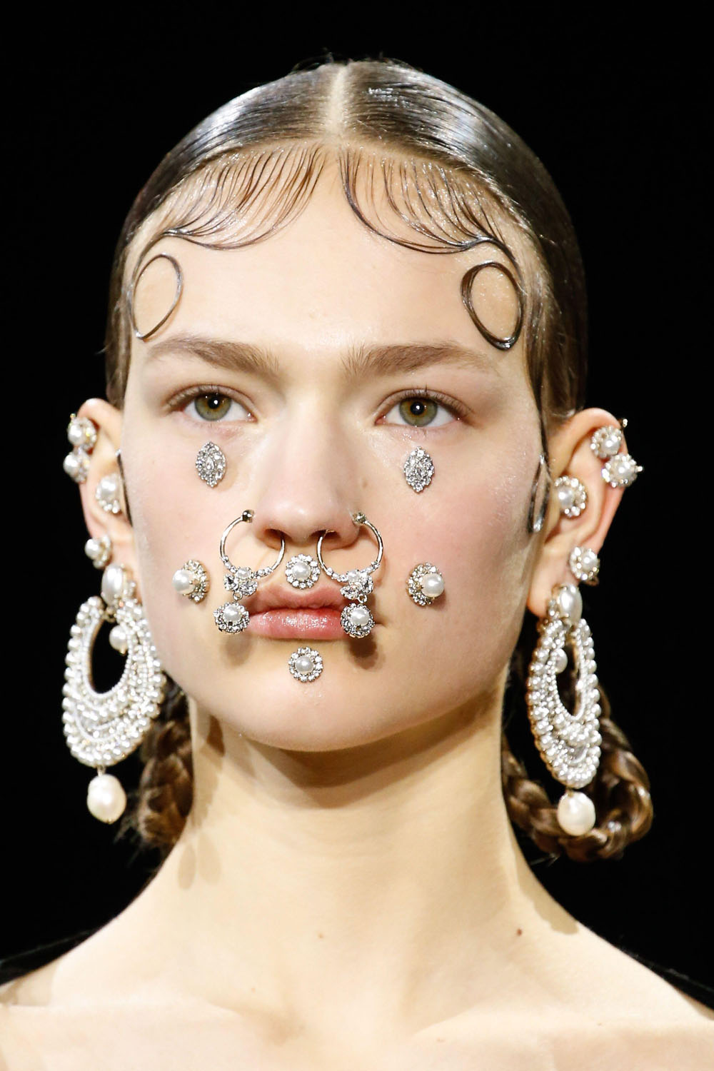How To Wear Piercings And Face Jewellery Aw15 Jewellery Trend