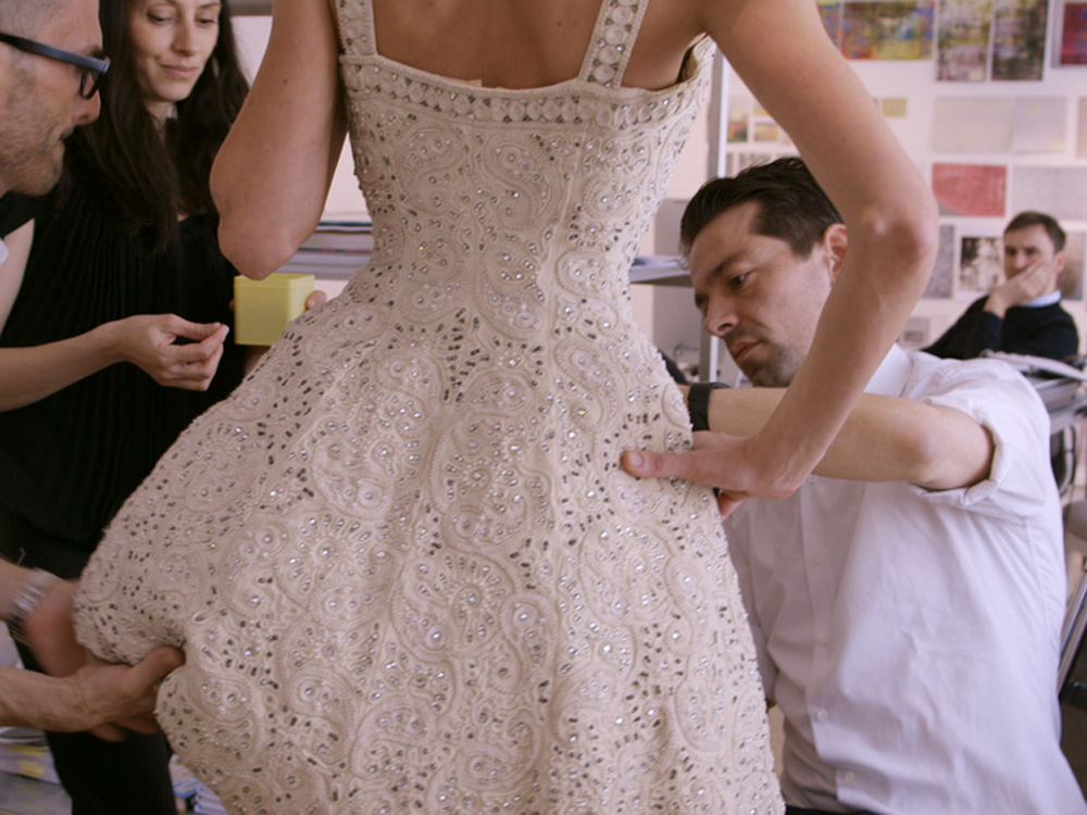 Dior and I, The Chronicle of The 8 Most Important Weeks of Raf Simons by Frederic Tcheng