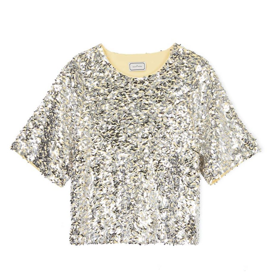 BY MALENE BIRGER Lontras Sequin Top