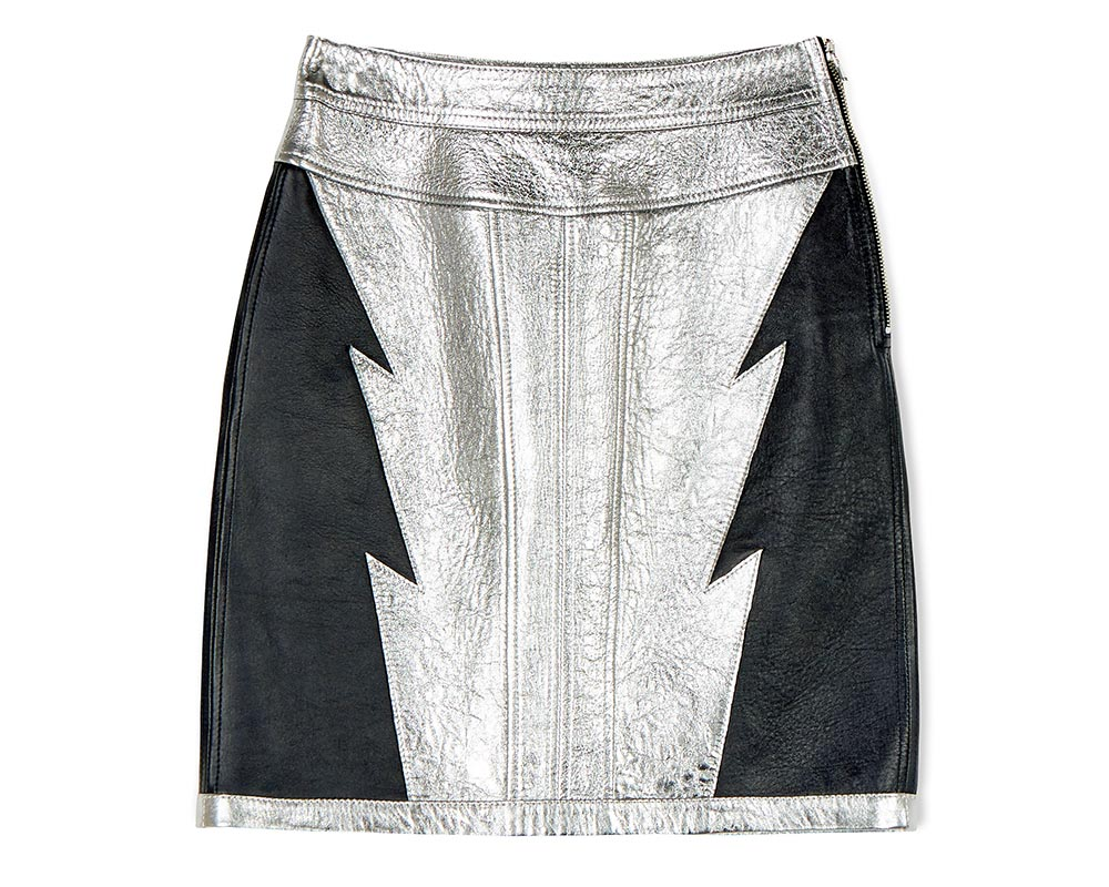 Diesel Leather Skirt