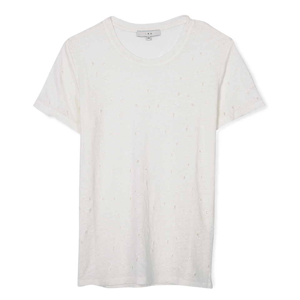 IRO Clay Hole Detail T-Shirt