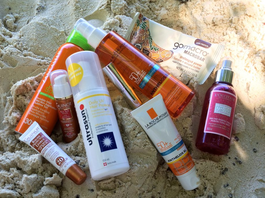 Marie Claire beauty trip products