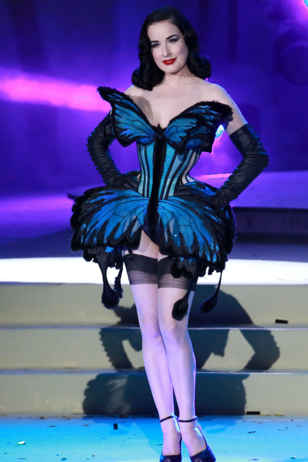 Dita Von Teese Talks Lingerie Style Keeping Fit And Why