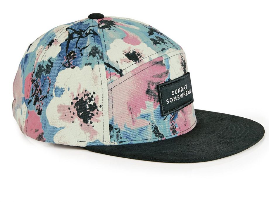 Someday Somewhere Floral Cap