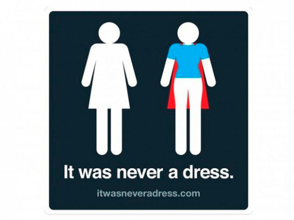 It was never a dress images