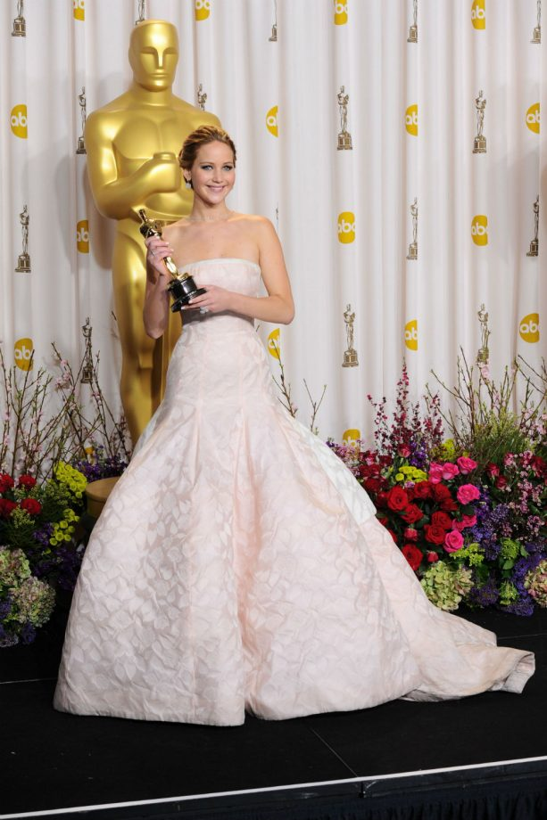 Jennifer Lawrence\'s Best Ball Gowns And Red Carpet Dresses