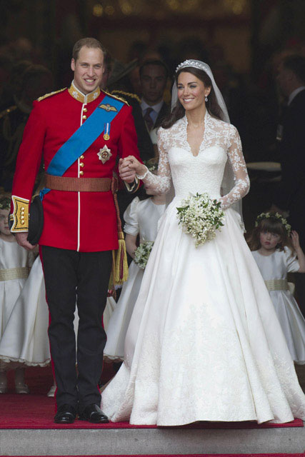 The Duchess of Cambridge's royal wedding dress is up for Design of the Year Award 2012