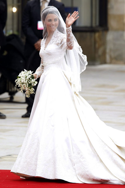 Kate Middletons Wedding Dress Up For Design Of The Year Award