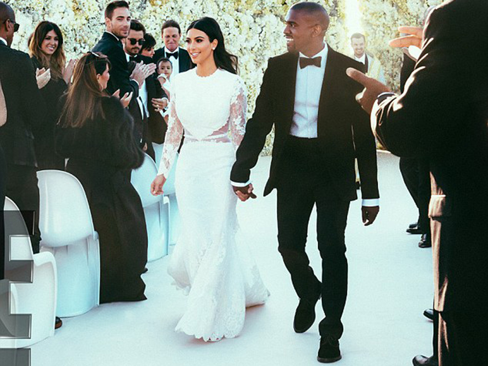 Modern Wedding Dresses: The Celebrity Bride Style Edit