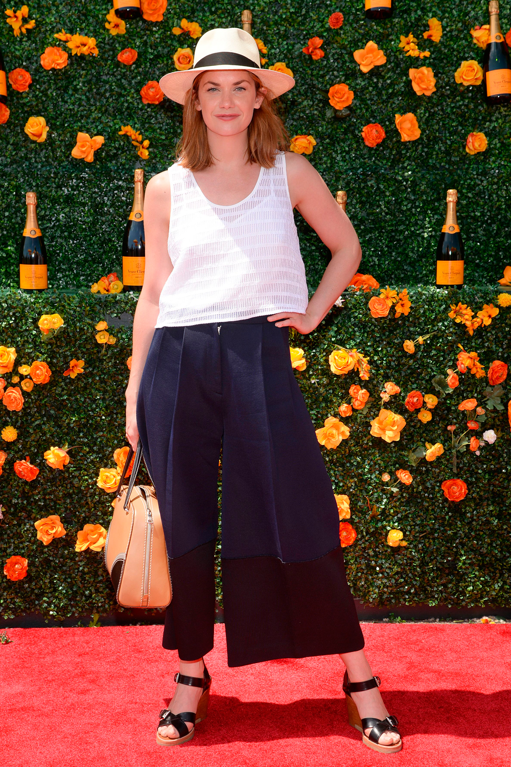 The Best Celebrity Looks From The Veuve Clicquot And Audi Polo This Weekend