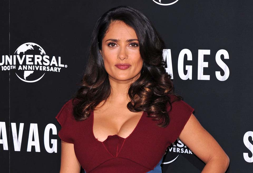 Celebrity Plastic Surgery Salma Hayek