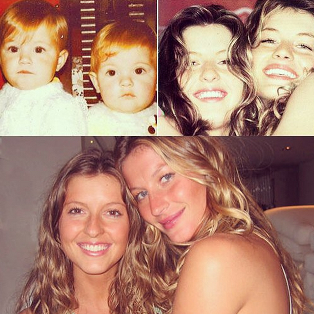 supermodel sisters: gisele bundchen has a twin, plus karlie kloss