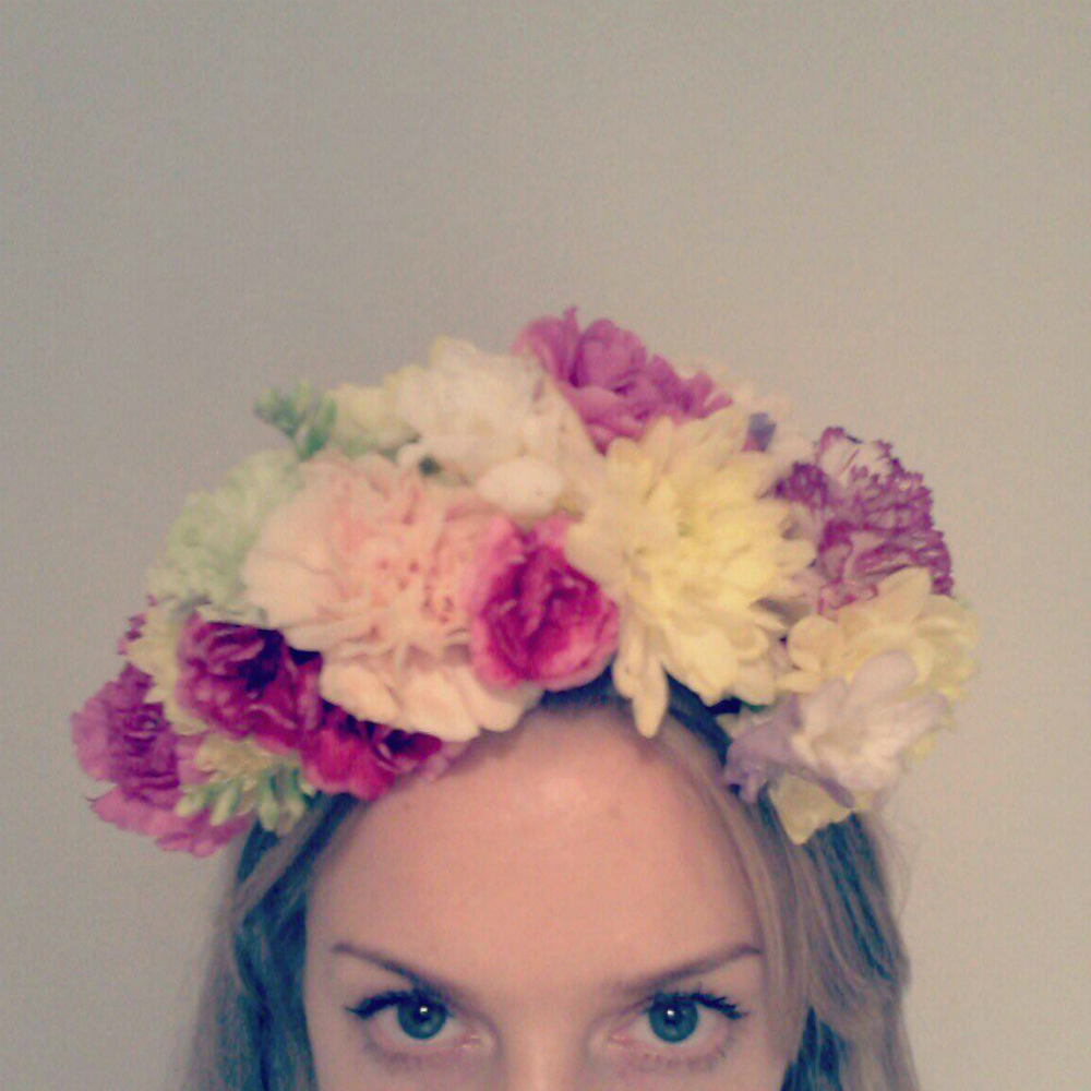 How to make a flower crown izmirmasajfo Image collections