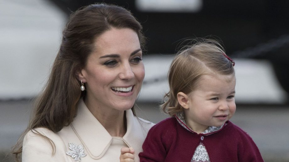 princess charlotte kate middleton canada tour
