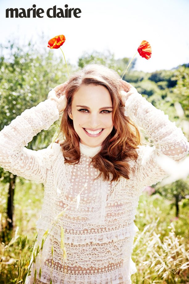 Natalie Portman by Ellen Von Unwerth For Marie Claire UK