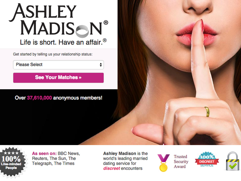 Ashley madison name lookup