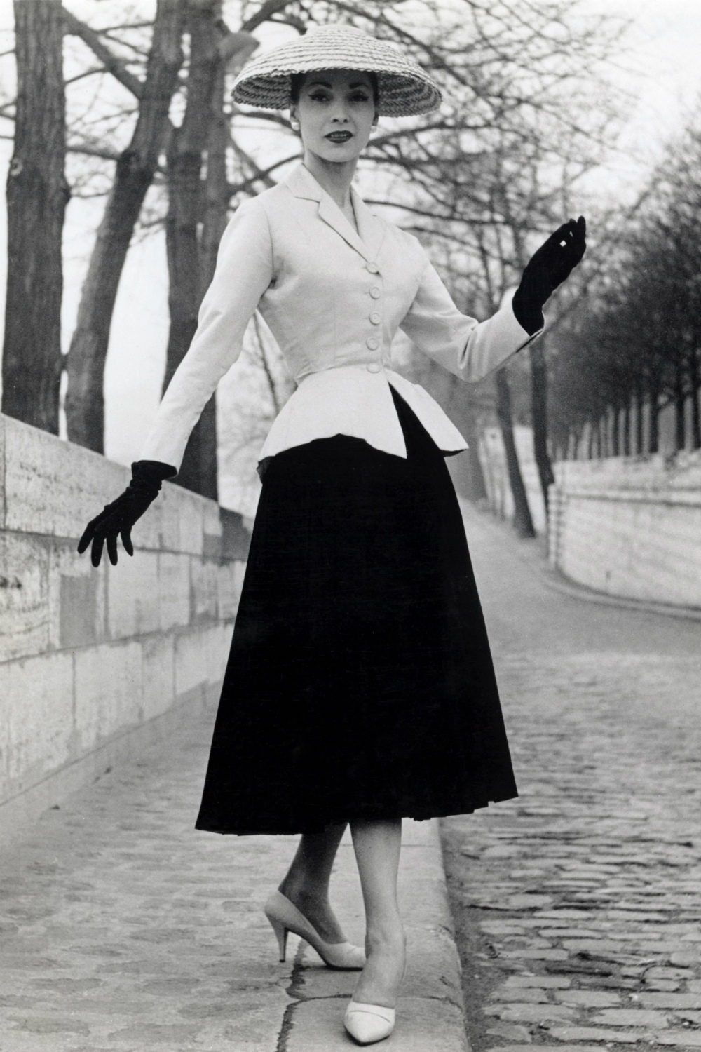 Christion Dior 1950s fashion moments