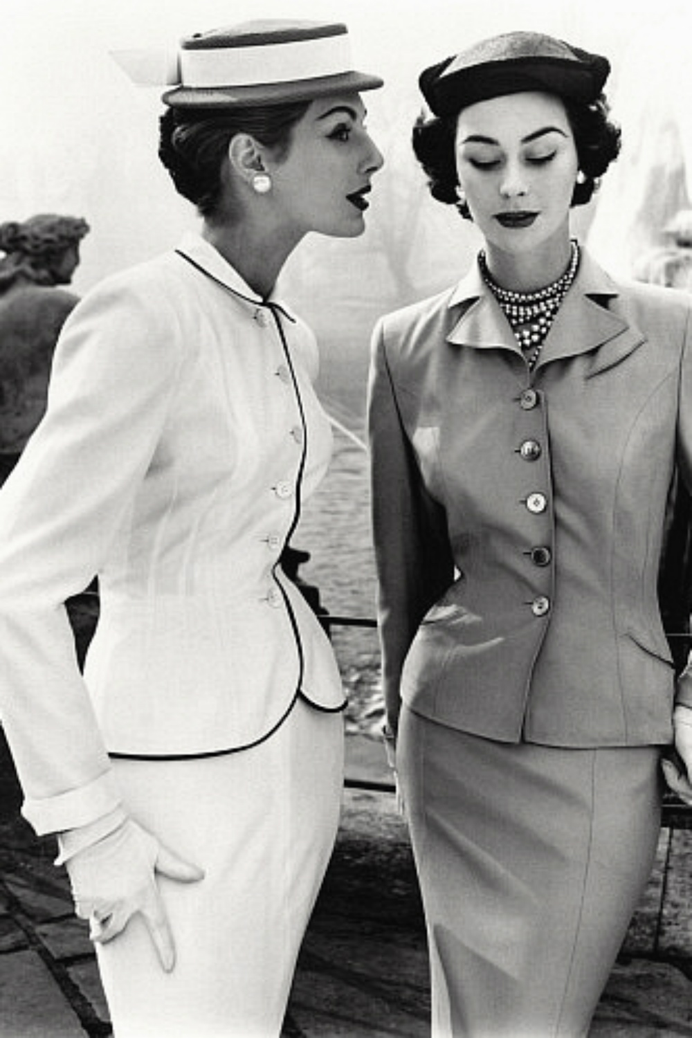 Fiona Campbell Walter 1950s fashion moments
