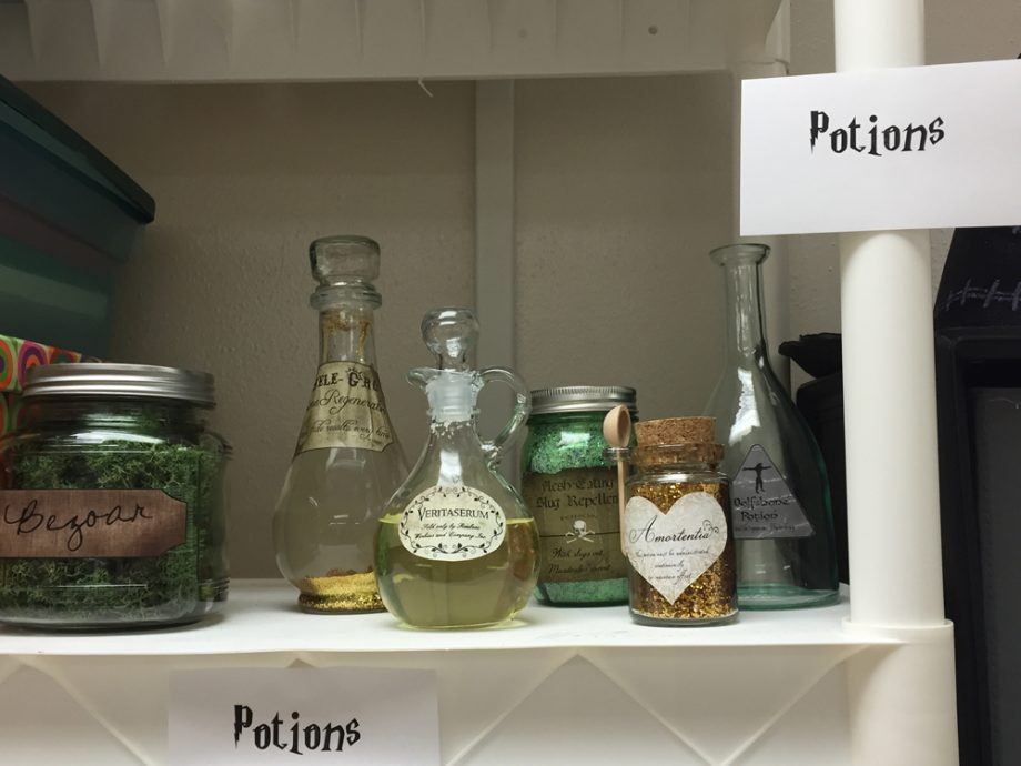 Harry Potter class potions