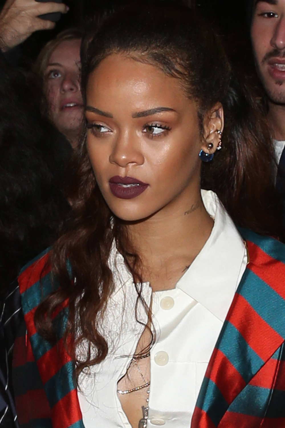 Rihanna Lipstick Colours In Pictures