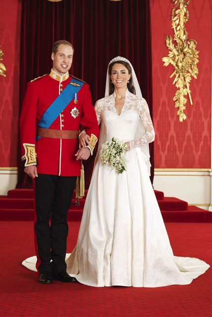 Royal wedding dresses the most iconic and dreamy gowns ever prince william and kate middleton iconic royal weddings wedding royal wedding marie junglespirit Images