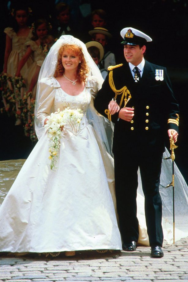 Royal wedding dresses the most iconic and dreamy gowns ever prince andrew and sarah ferguson iconic royal weddings lifestyle gallery see junglespirit Images