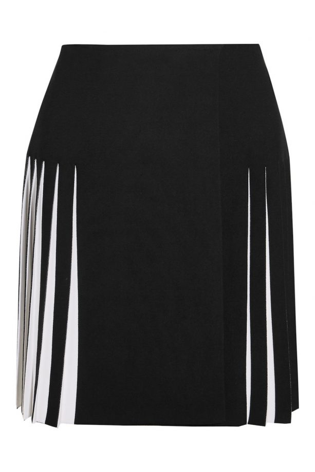 f0d3caeb28 Alaia Pleated Two-Tone Knitted Skirt, £1,200, NET-A-PORTER