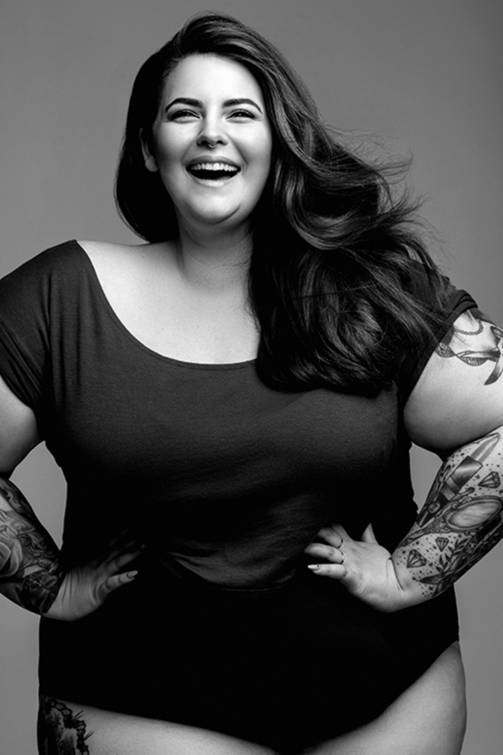 Marie Claire's new plus sized columnist