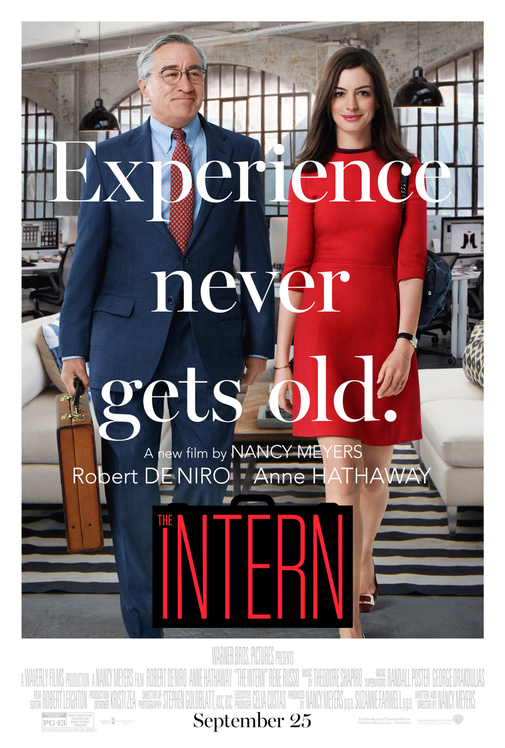 a review of the intern a comedy film by nancy meyers The adages of the intern are delivered in a comedy a review of the classic 1979 film her i'd had a genuinely good time watching a nancy meyers movie.