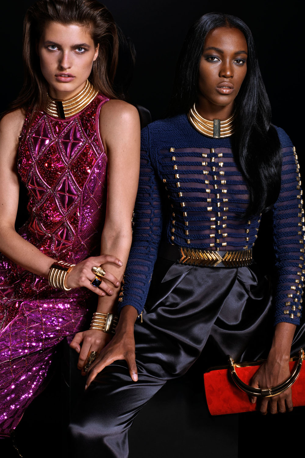 Balmain Taps Digital Models To Front Their New Campaign