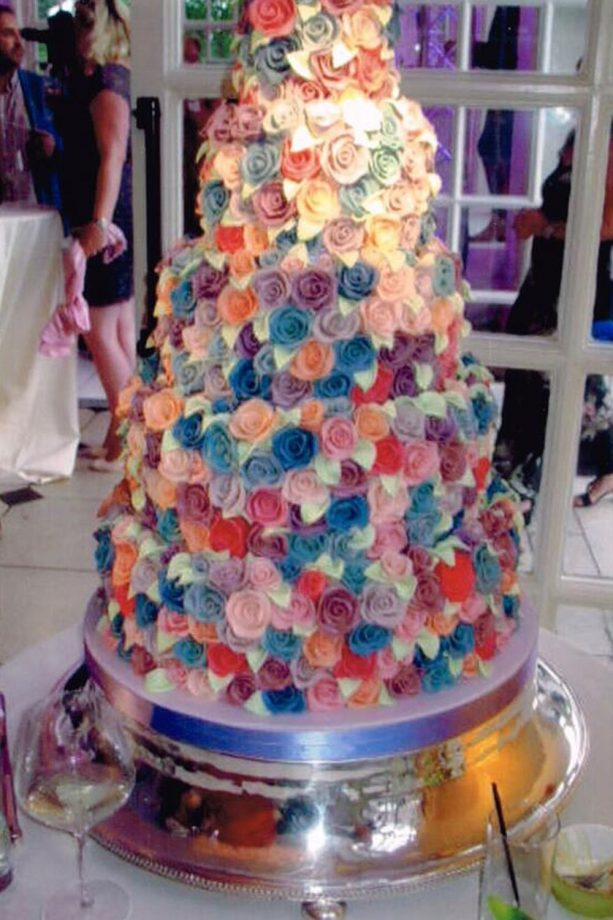 Celebrity Wedding Cakes Pictures To Inspire Your Own Wedding Cake Design