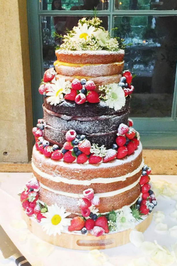 Celebrity Wedding Cakes: Pictures To Inspire Your Own ...