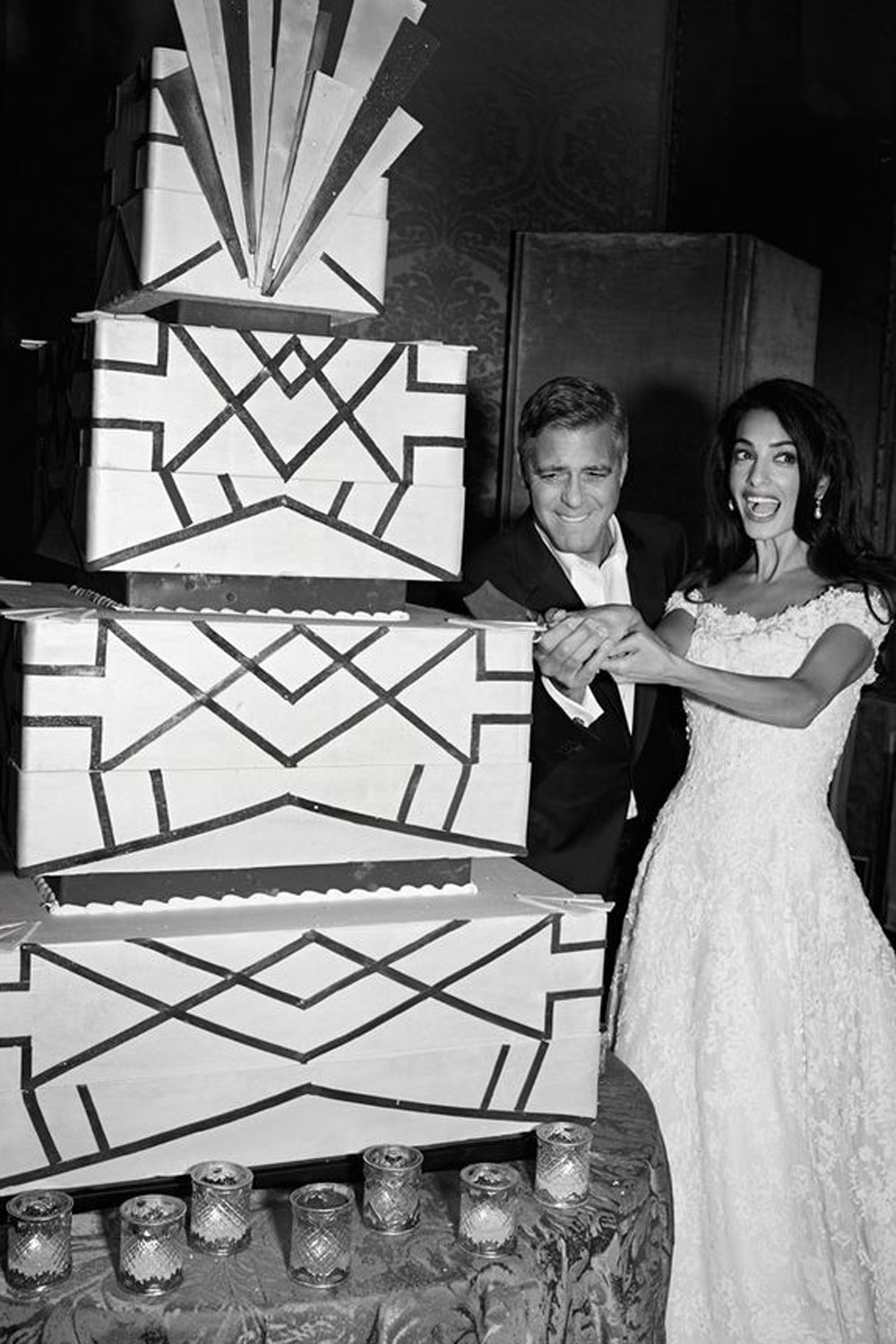 19 Celebrity Wedding Cake Pictures To Inspire Your Own Big Day