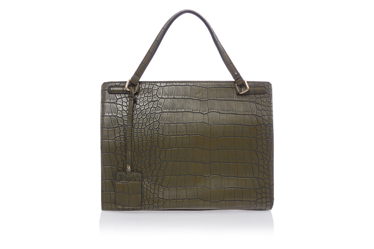 First To Consider Adding Your Christmas List Is Tu At Sainsbury S Olive Croc Print Bag This Classic Style Will Be Go For Seasons Come And The
