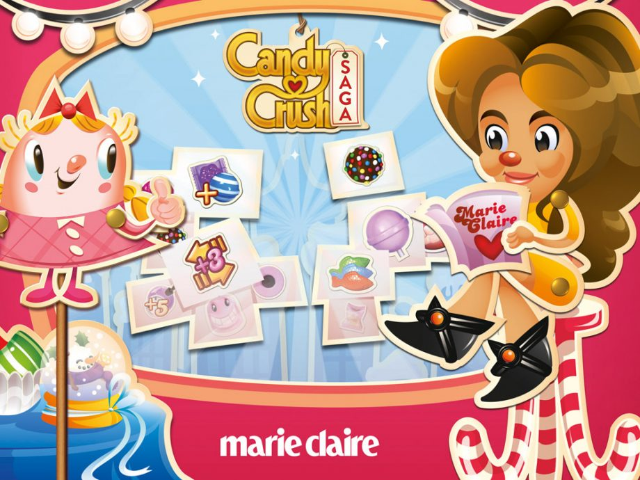 Candy Crush Marie Claire level