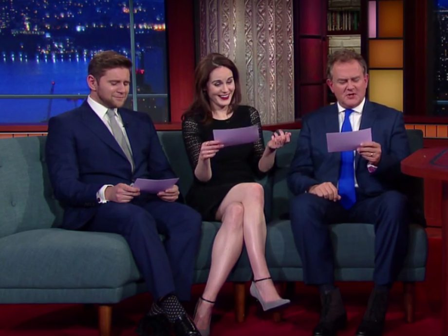 Downton Abbey American Accents The Late Show With Stephen Colbert