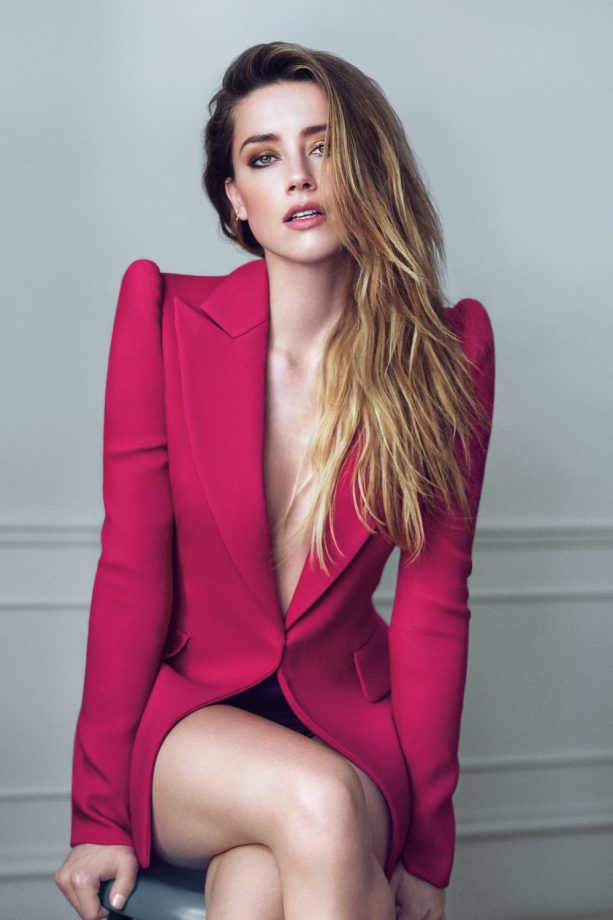 Amber Heard for Marie Claire